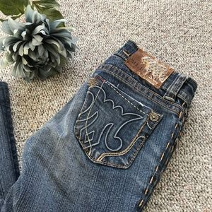 MEK Denim Dharwad Slim Bootcut Stretch Jeans